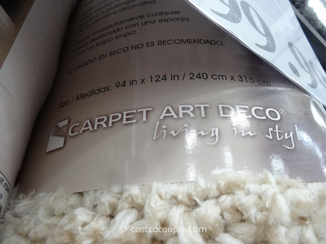 Carpet Art Deco Comfort Shag Rug 8x10 Costco 3