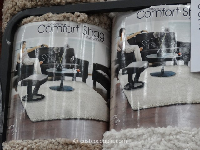 Carpet Art Deco Comfort Shag Rug 8x10 Costco 4