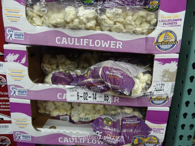 Cauliflower Florets Costco 1