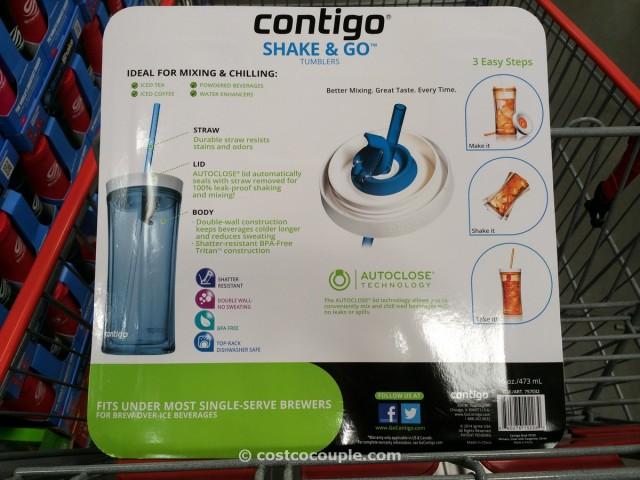 Contigo Tumblers with Straws Costco 5