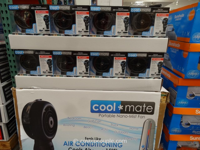 CoolMate Portable Misting Fan Costco 1