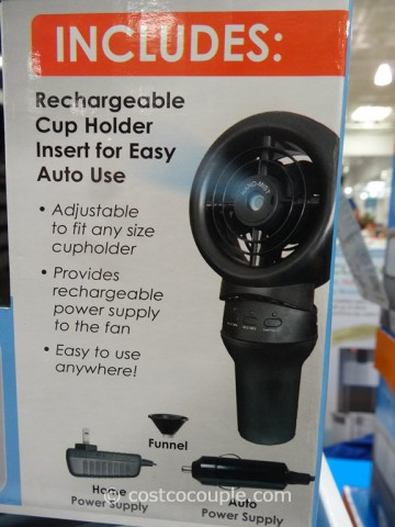 CoolMate Portable Misting Fan Costco 2