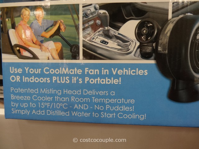 CoolMate Portable Misting Fan Costco 3