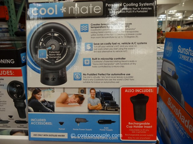 CoolMate Portable Misting Fan Costco 4
