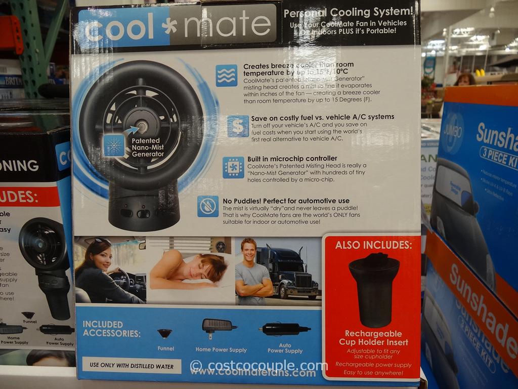 Costco Portable Tv : Coolmate portable misting fan