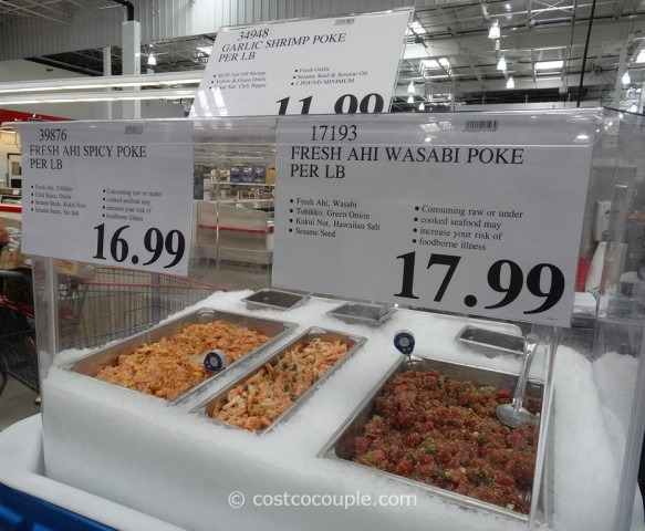 Costco Hawaiian Poke 1
