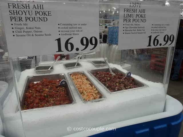Costco Hawaiian Poke 2