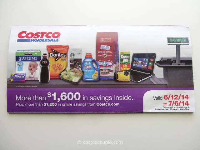 Costco June 2014 Coupon Book 1
