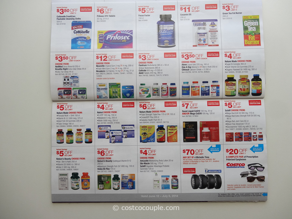 How to redeem a Costco coupon. The store also offers to help you create and customize products such as canvas prints, photo books, greetings, metal prints and more. Additionally you can use other services such as the pharmacy, optical and travel services.4/5(1).