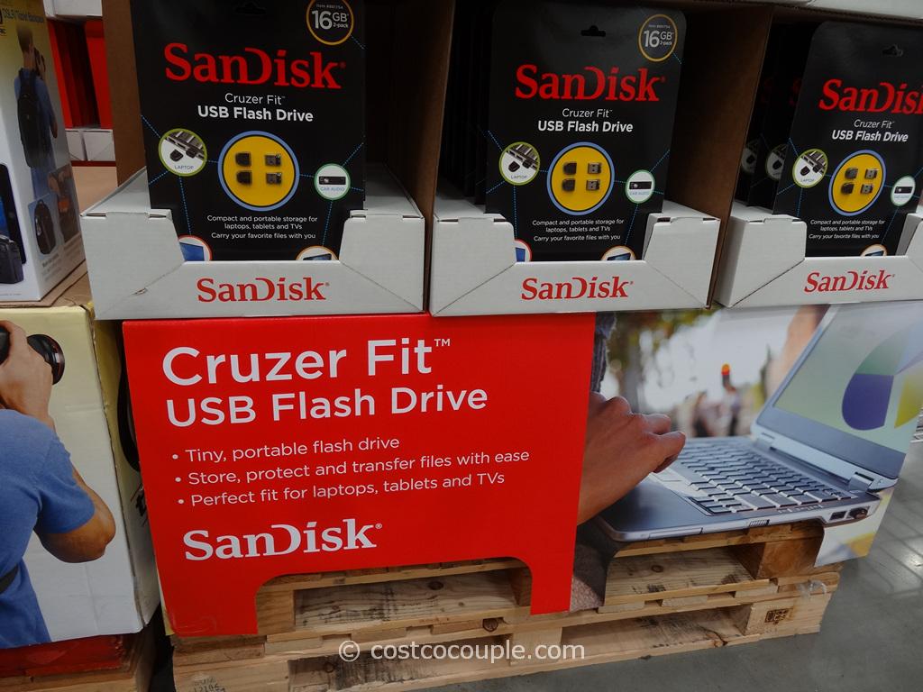 Cruzer Fit USB Flash Drive Costco 1