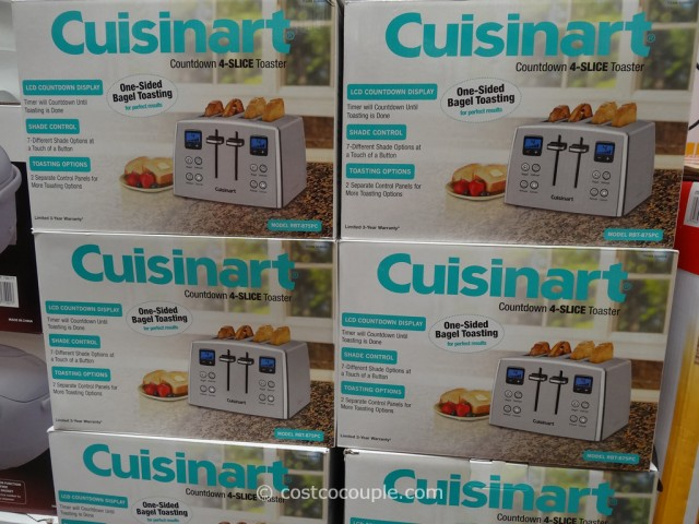 Cuisinart Countdown 4-Slice Toaster Costco 1