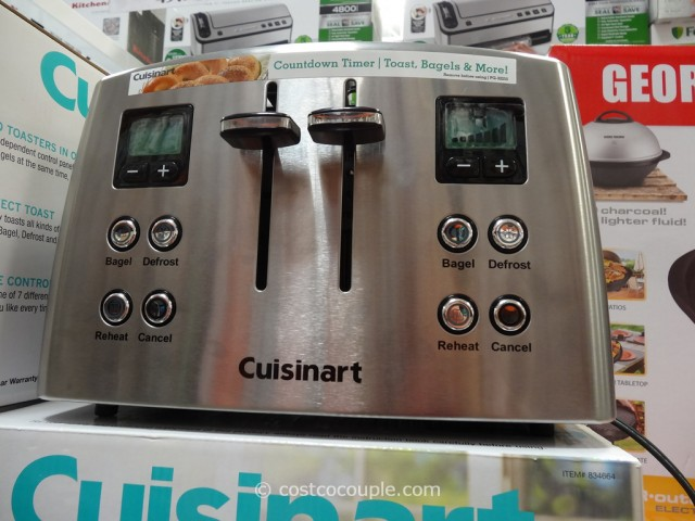 Cuisinart Countdown 4-Slice Toaster Costco 2