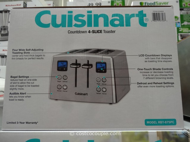Cuisinart Countdown 4-Slice Toaster Costco 3