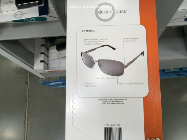 Design Optics Sunglass Readers Costco 4