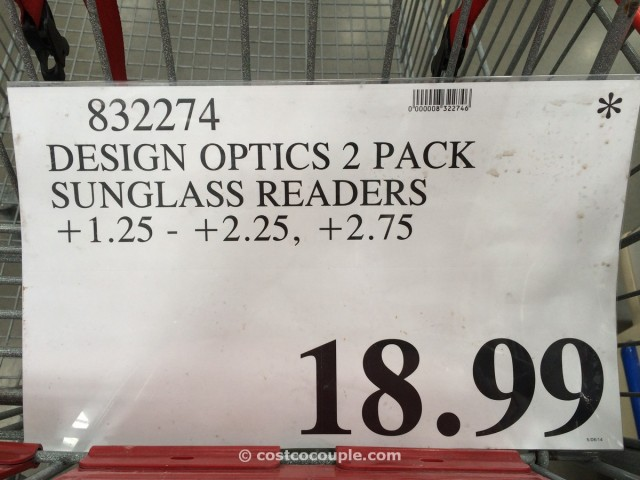 Design Optics Sunglass Readers Costco 5