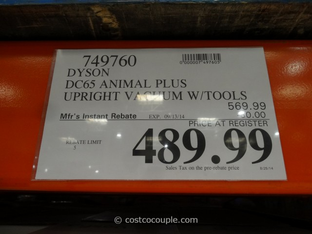 Dyson DC65 Animal Plus Costco