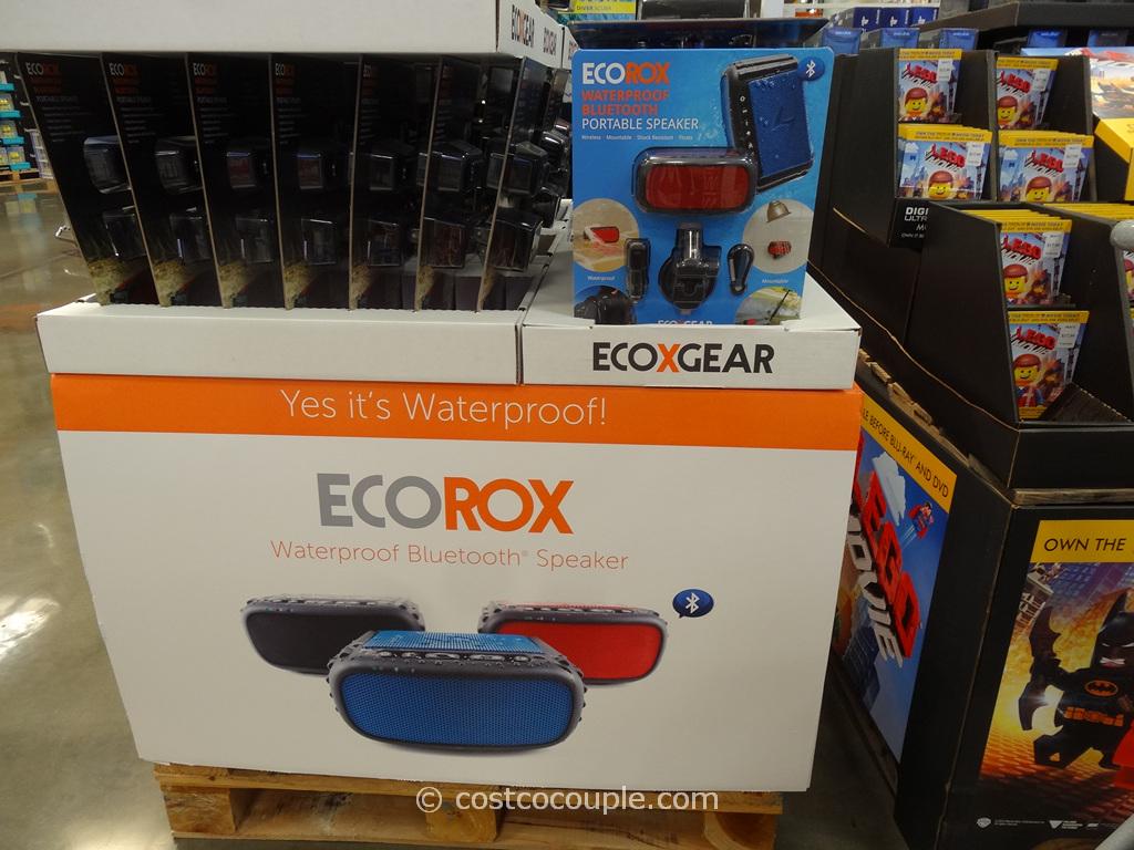 EcoRox Waterproof Bluetooth Speaker Costco 2