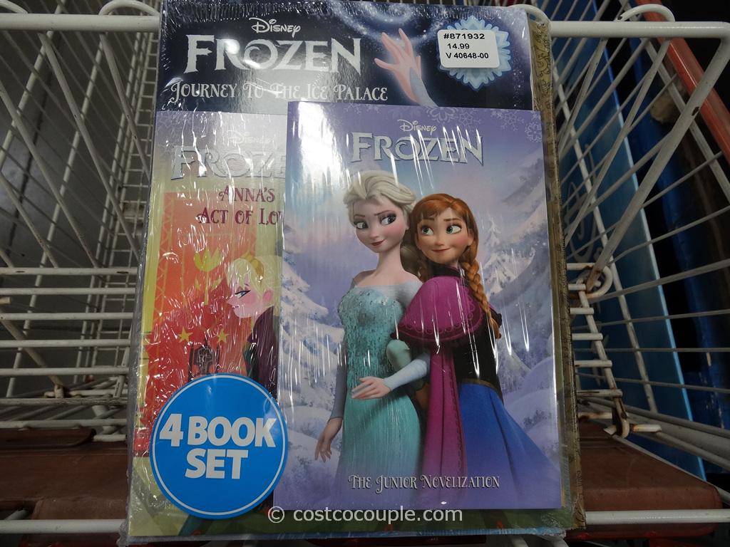 Frozen 4 Book Set Costco 3