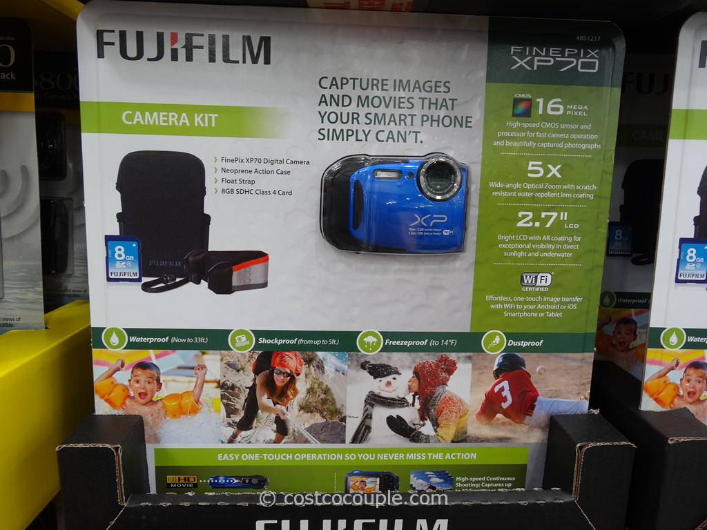Fuji XP70 Weatherproof Camera Costco 5