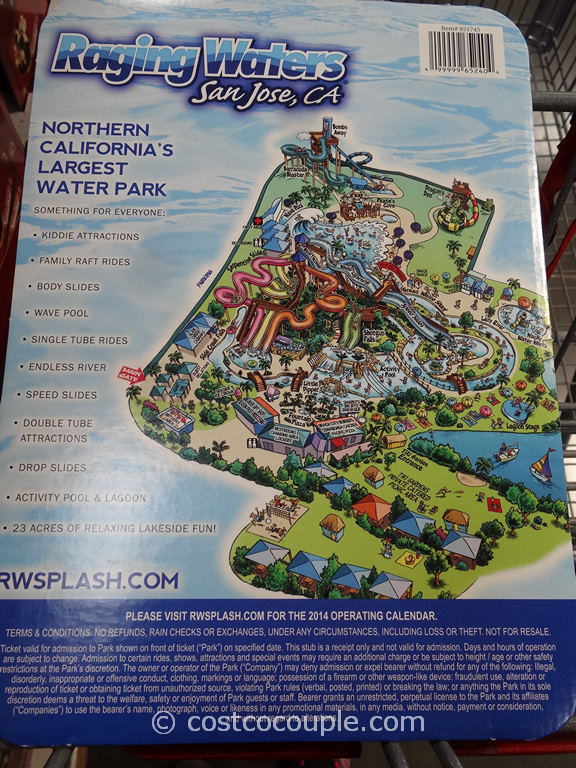 Gift Card Raging Waters San Jose Costco 2