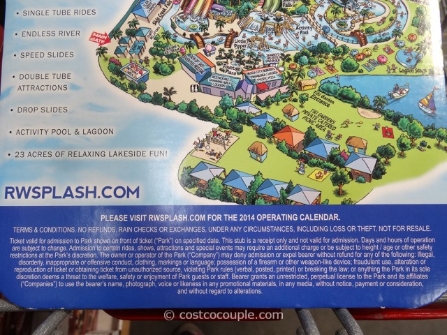 Gift Card Raging Waters San Jose Costco 3