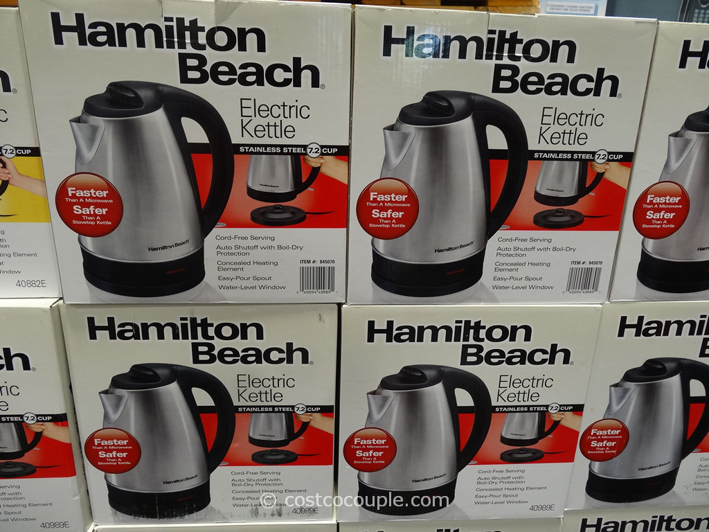 Hamilton Beach Stainless Steel Electric Kettle Costco 2