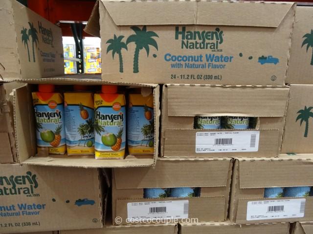 Hansens Natural Tropical Coconut Water Costco 1