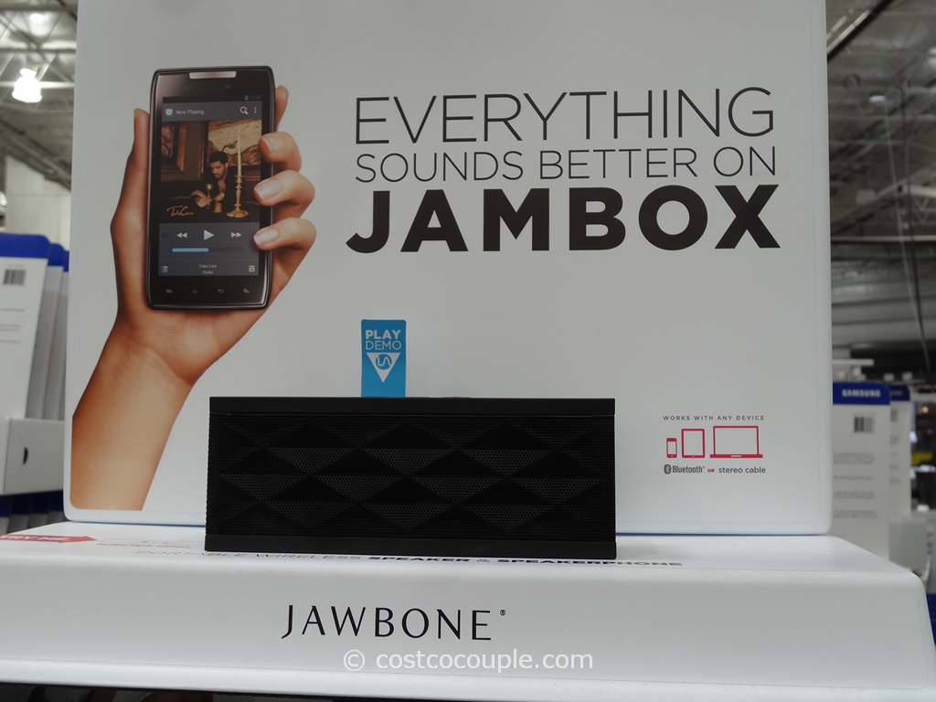 Jawbone Jambox Wireless Bluetooth Portable Speaker Costco 2
