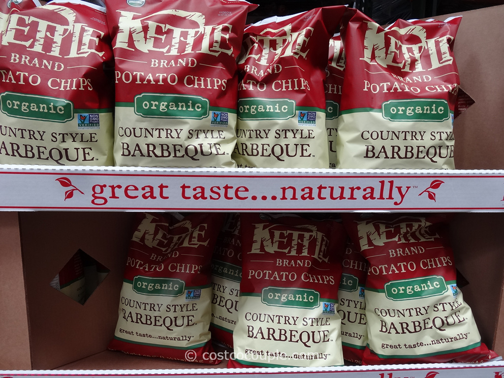 Kettle Brand Organic BBQ Potato Chips Costco 2