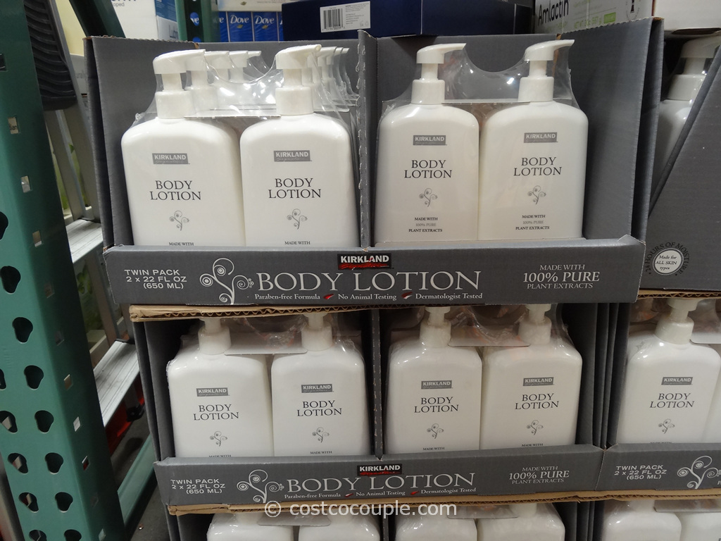 Kirkland Signature Body Lotion Costco 3