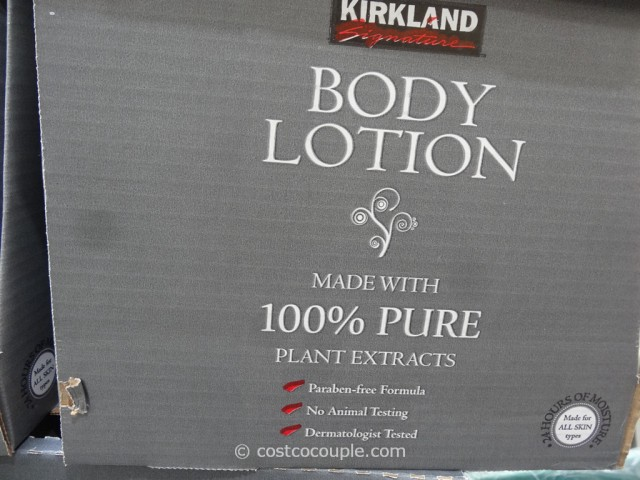 Kirkland Signature Body Lotion Costco 4