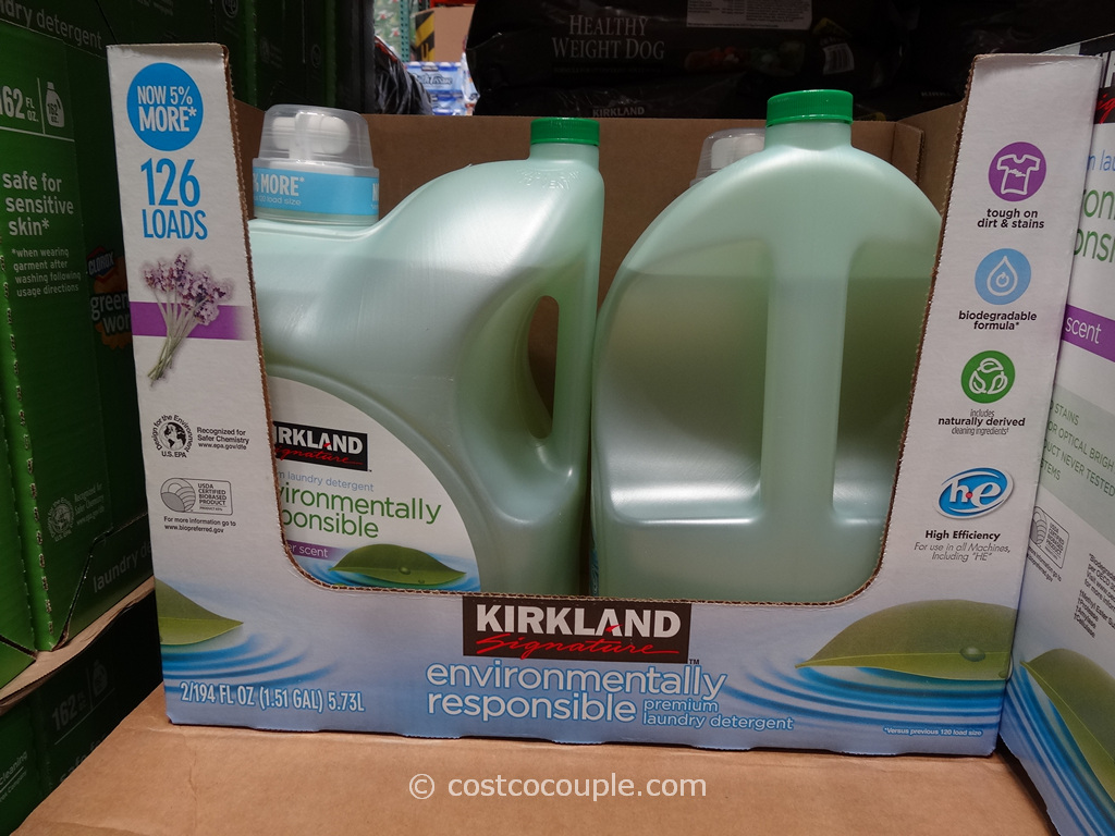 Kirkland Signature Eco-Friendly Laundry Detergent Costco 1
