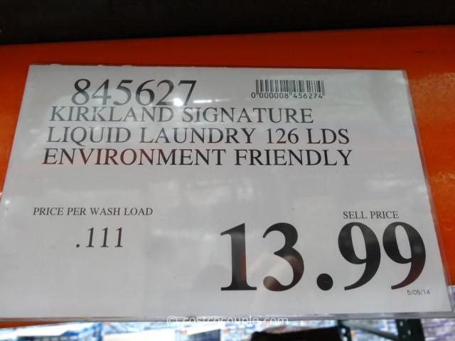 Kirkland Signature Eco-Friendly Laundry Detergent Costco 4