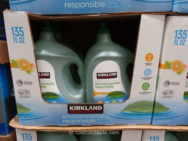 Kirkland Signature Eco-Friendly Liquid Dish Soap Costco 1
