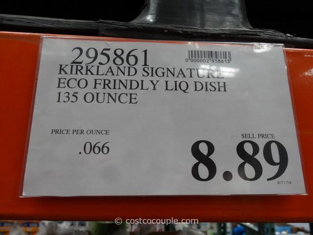 Kirkland Signature Eco-Friendly Liquid Dish Soap Costco 2