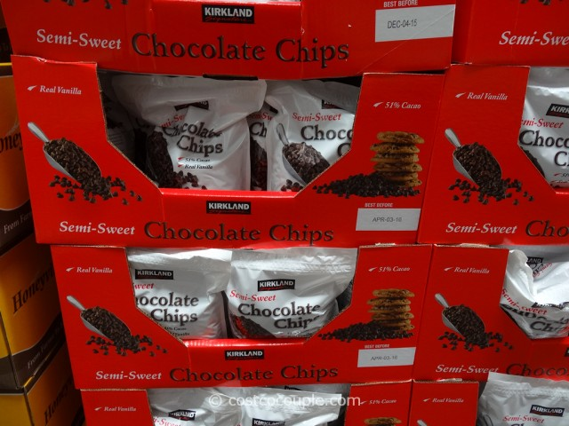 Kirkland Signature Semi Sweet Chocolate Chips Costco 4