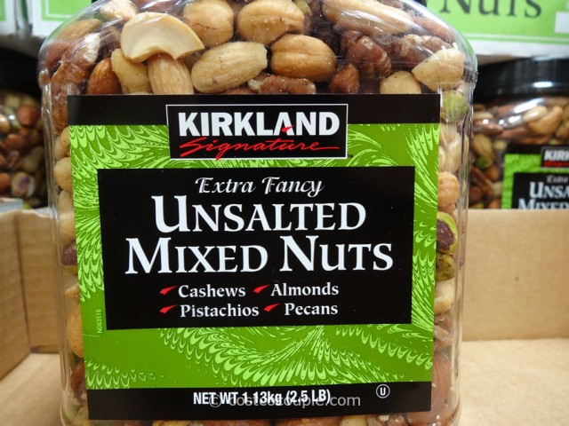 Kirkland Signature Unsalted Mixed Nuts Costco 3