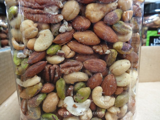 Kirkland Signature Unsalted Mixed Nuts Costco 4