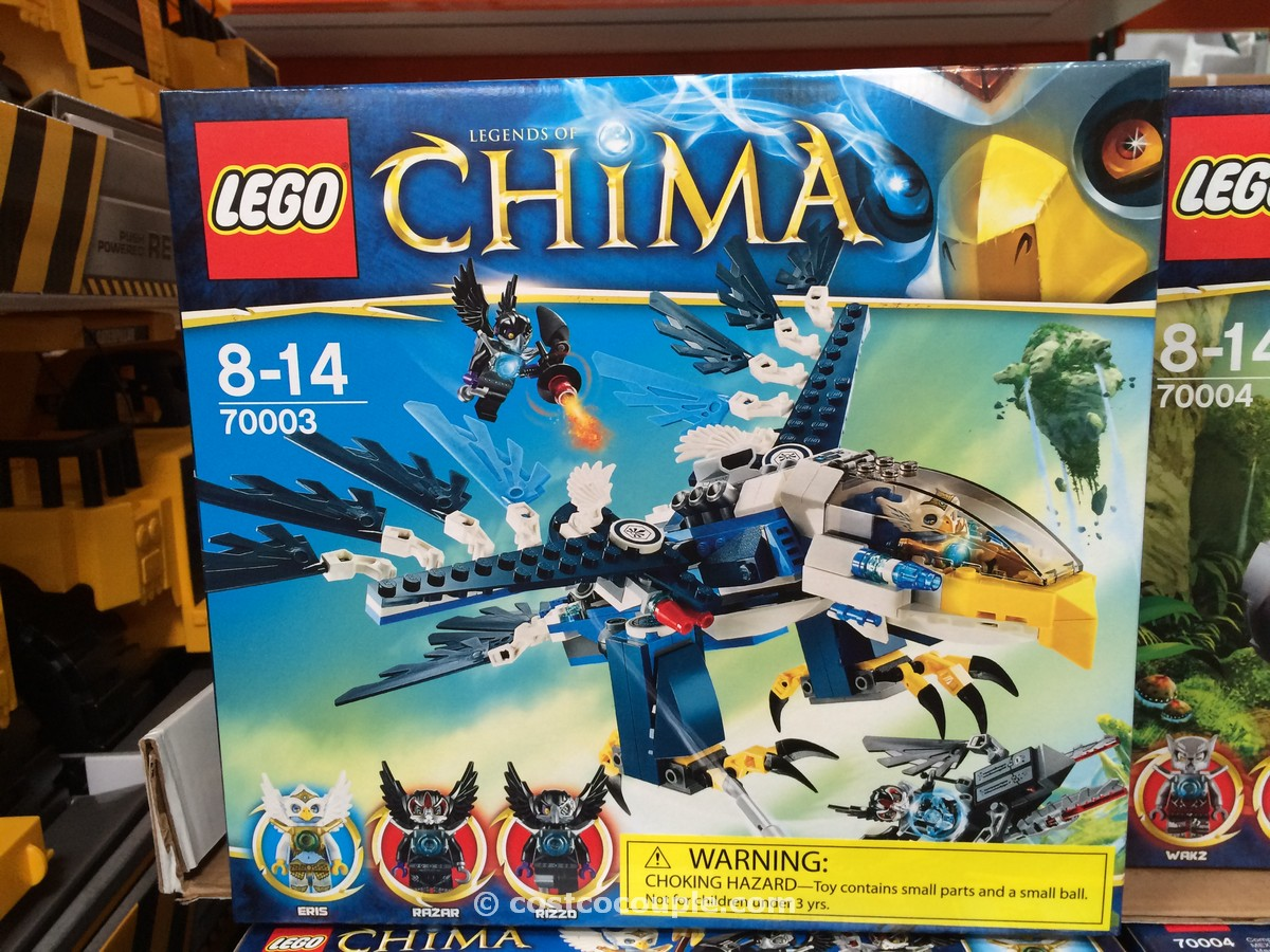 LEGO Legends of Chima Costco 1