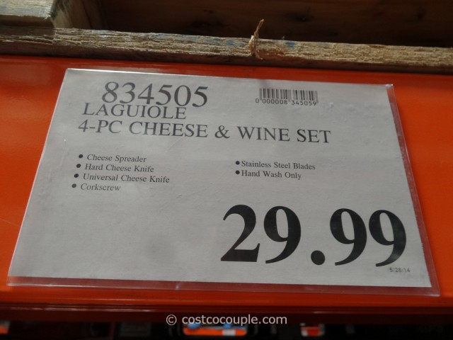 Laguiole Wine and Cheese Set Costco 2