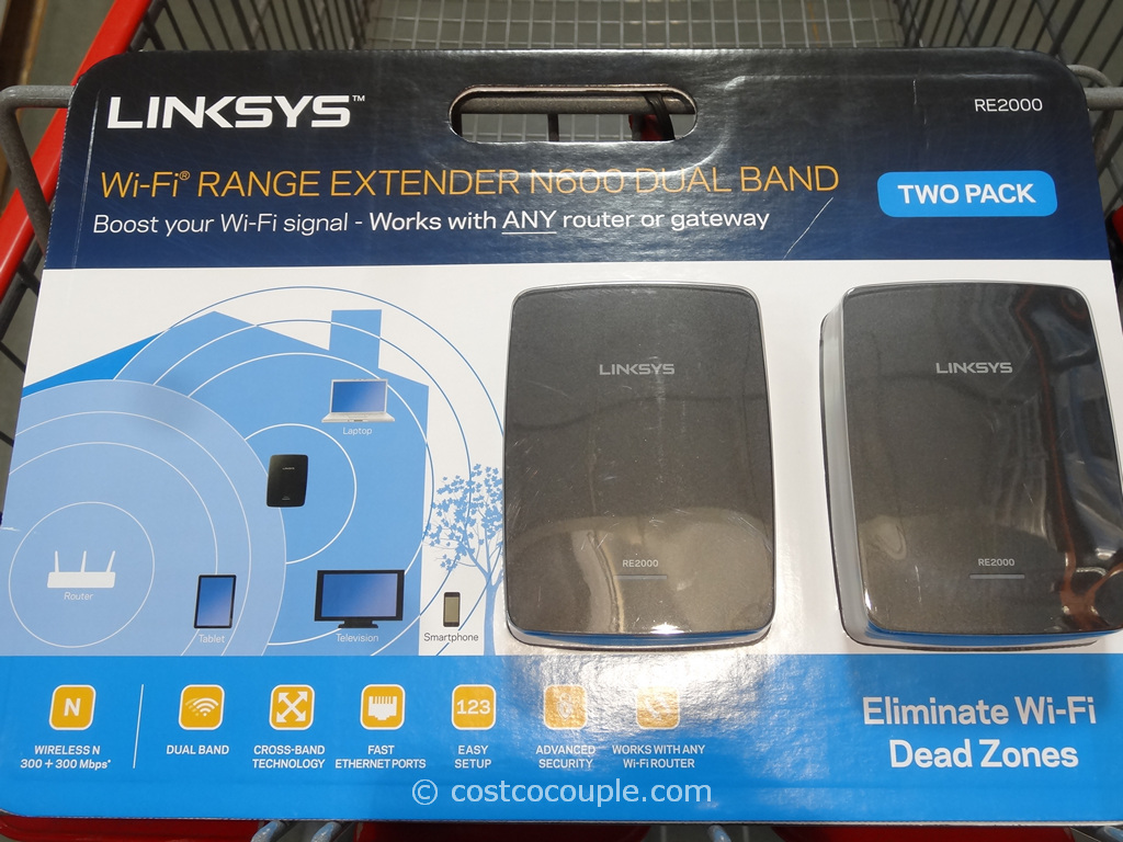 Linksys Wifi Range Extender Costco 2