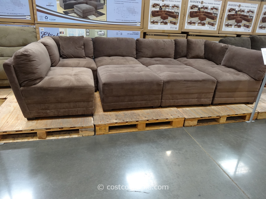 Marks and Cohen Hayden 8-Piece Modular Fabric Sectional Costco 7