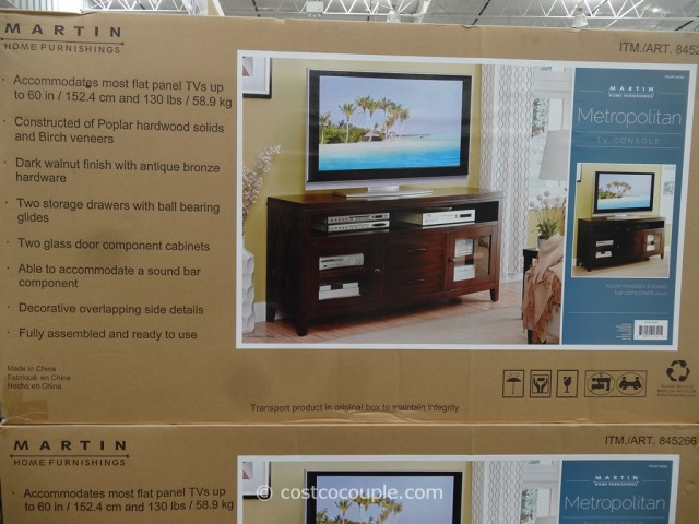 Martin Home Furnishings Metropolitan TV Console Costco 4