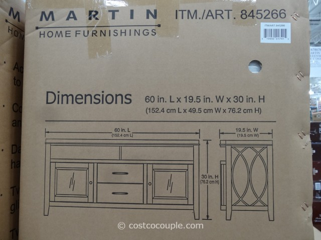 Martin Home Furnishings Metropolitan TV Console Costco 5