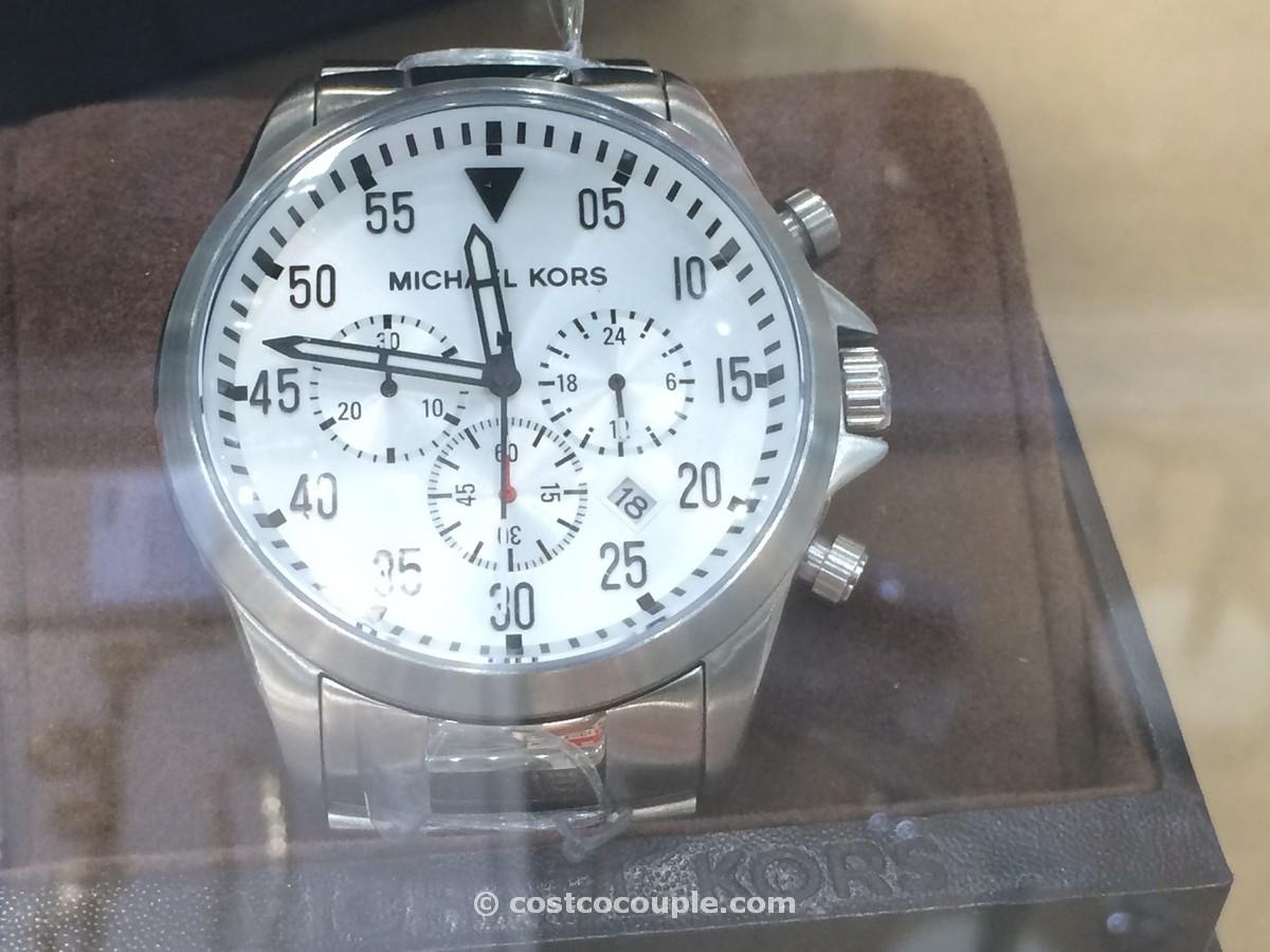 Michael Kors Gage White Chronograph Costco 2