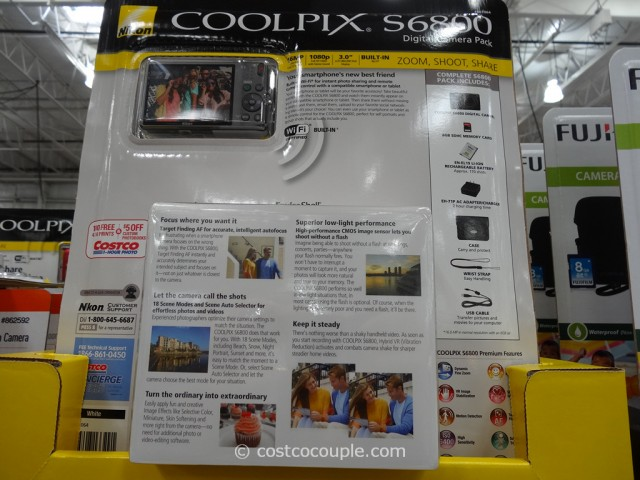 Nikon Coolpix S6800 Costco 2
