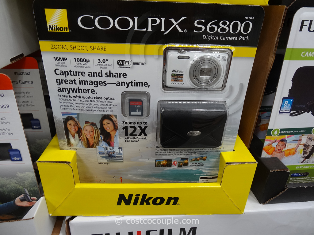 Nikon Coolpix S6800 Costco 3