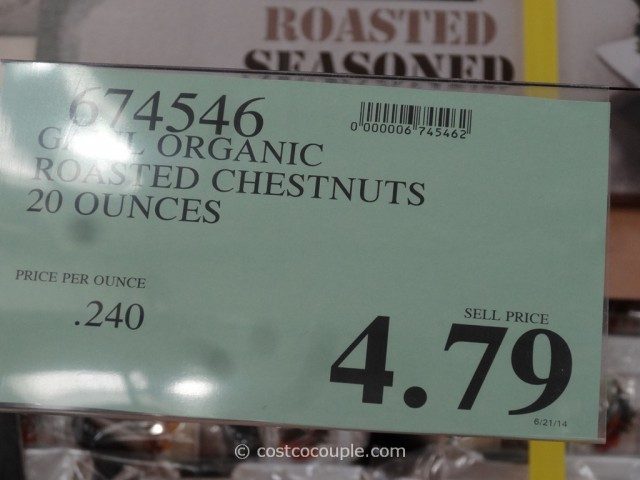 Organic Roasted Chestnuts Costco 1