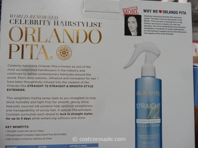 Orlando Pita 72 Hours Smooth Style Extender Costco 5