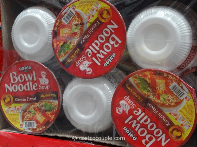 Paldo Kimchi Noodle Bowl Costco 3